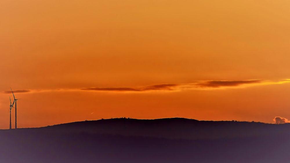 Abendhimmel Sunrise Abendhimmel Aulhausen Abendrot Evening Sky