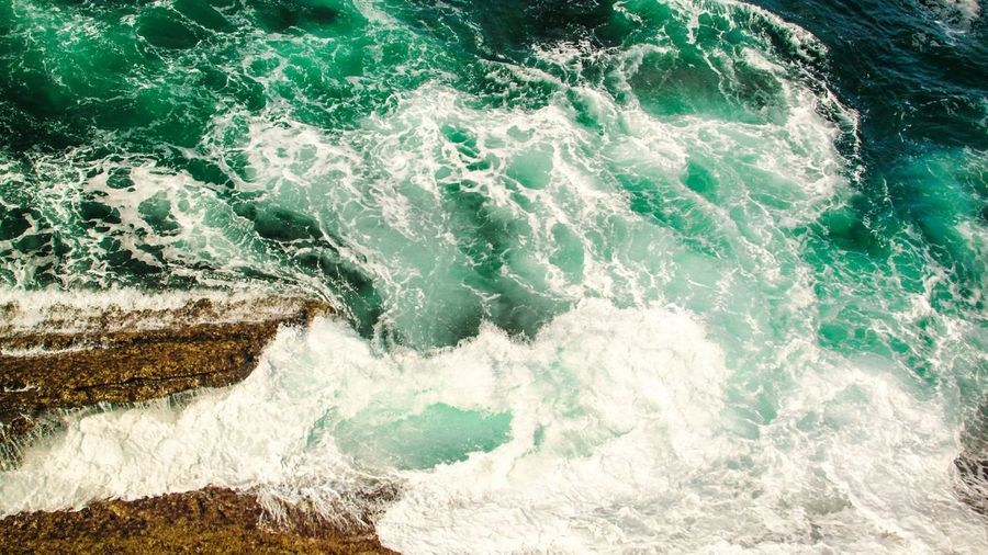 Water Sea Motion Wave Power In Nature Nature Splashing Beauty In Nature Seascape Waves Crashing On Rocks Waves Turquoise Water EyeEm Gallery Check This Out The Great Outdoors - 2018 EyeEm Awards