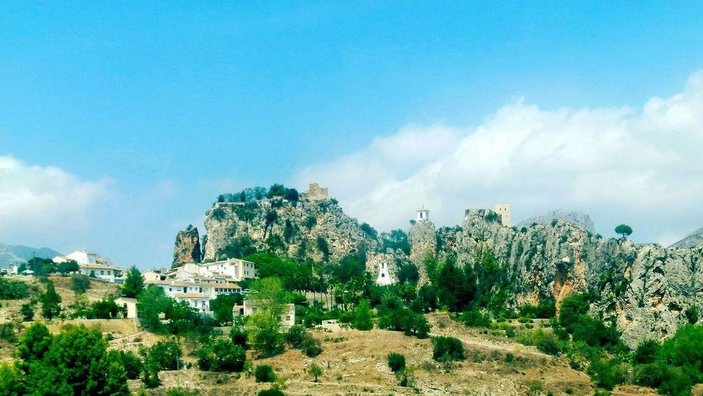 Guadalest Costa Blanca Scenic SPAIN Spain ♥ Hillside Hill