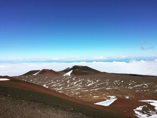 Hawaii Mountain Above The Clouds Tranquility Scenics Landscape Beauty In Nature No People Non-urban Scene Nature IPhoneography