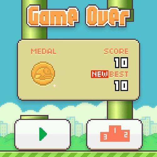 TAKE THAT!! FirstMedal Flappybird