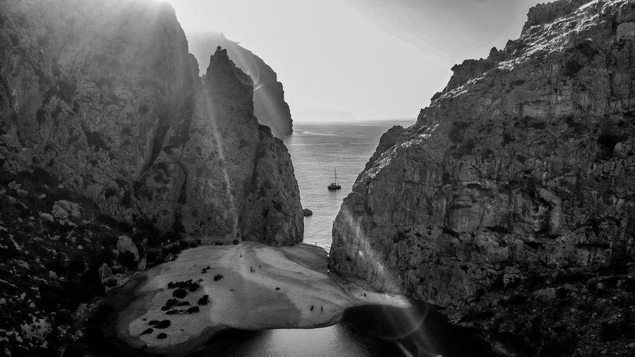Photo taken in Sa Calobra, Spain