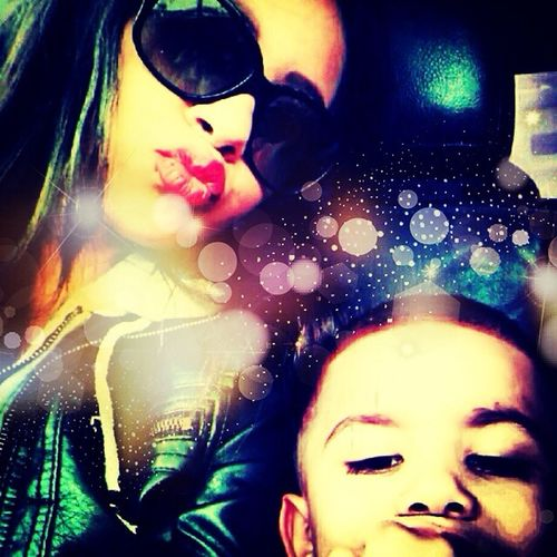My oldest daughter & youngest son Família My Big Sister <3 My Little Brother ❤ Too Cool 4 U