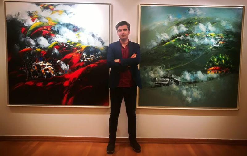 Ekrem Kutlu Painter Istanbul Turkey