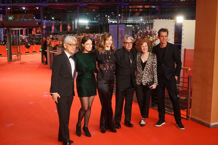 Berlin, Germany - February 24, 2018: The 68th Berlinale jury members Ryuichi Sakamoto, Adele Romanski, Cecile de France, Chema Prado, Stephanie Zacharek and Tom Tykwer attend the closing ceremony 68th Berlinale Adele Romanski Chema Prado Jury Press Ryuichi Sakamoto Stephanie Zacharek The Media Tom Tykwer Arts Culture And Entertainment Berlinale Berlinale 2018 Berlinale Festival Berlinale2018 Berlinale68 Cecile De France Cinema Fashion Front View Group Of People International Film Festival Mass Media Portrait Red Carpet Red Carpet Event