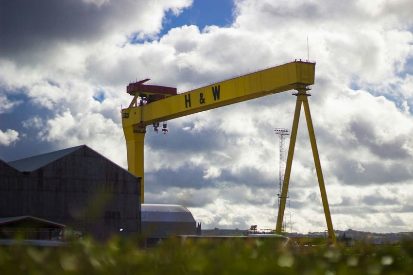 Harland&Wolff Crane History Historical Building