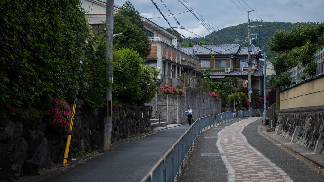 The Flower Street at Kyoto, a little avenue between Kinkaku-ji and Ginkaku-ji that most would have missed if they were too caught up travelling between the two famous temples Diminishing Perspective Hidden Gems  Japan Kyoto Path Road Streetphotography Vanishing Point Showcase July Traveling Home For The Holidays Miles Away