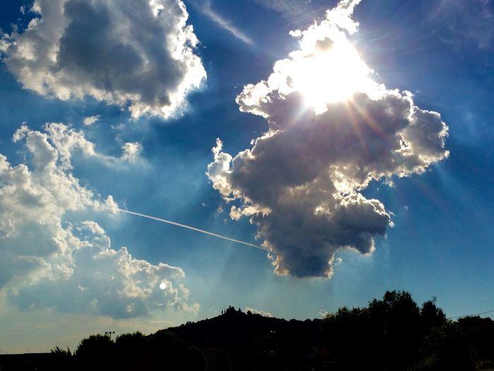 Clouds on Montevecchia Clouds And Sky Montevecchia