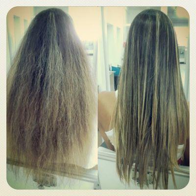 Antes e depois! Ficou um sucesso!! Hair Hairdesing London Progress hairstyle tendencia sucesso antesedepois