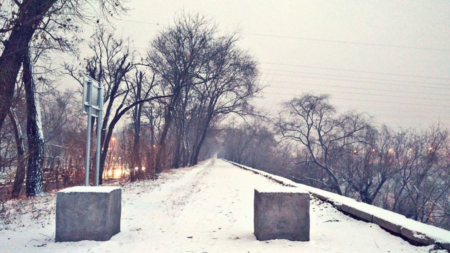 Snow ❄ Cold TemperatureNo People