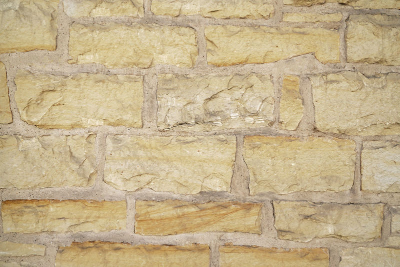 Natural Stone Wall Architecture Background Backgrounds Full Frame No People Old Pattern Solid Stone Stone Material Stone Wall Texture Textured  Wall Wall - Building Feature Yellow