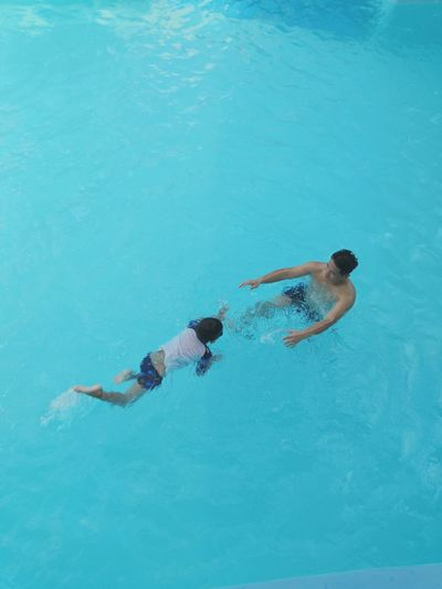 swim in the pool Swimming Water Swimming Pool Full Length Underwater Healthy Lifestyle
