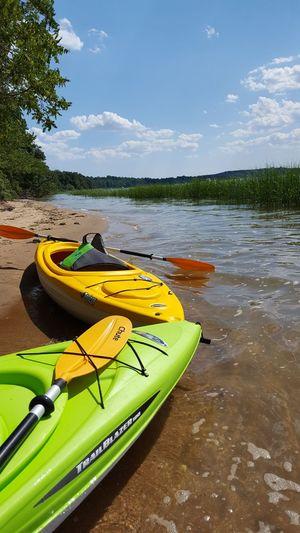 Kayaking and