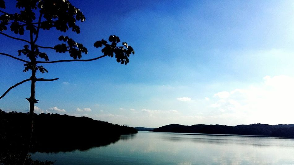 Blue Sky Landscape Water Reflections Sky And Clouds Sky And Water Nature Brazil Serra Do Mar