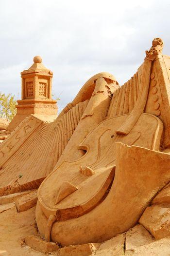 Sand Sand Sculpture Park Sand Sculptures Sand Sculpture