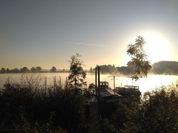 #Lithse ham#Netherlands#morning#boatlife Water Morning Boat Netherlands Tree Lake Sunset Reflection Sky Sunrise - Dawn First Eyeem Photo A New Beginning EyeEmNewHere