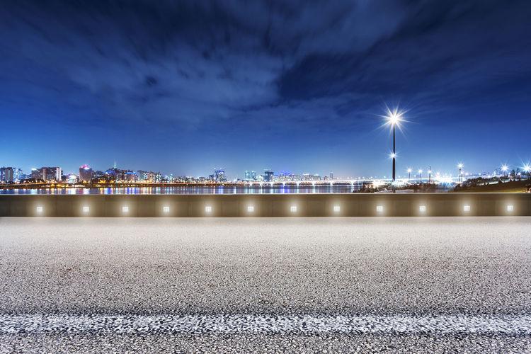 night scene of