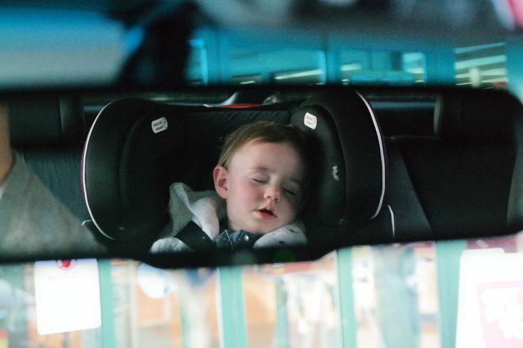 Night Night, Sleep Tight car rides always work.