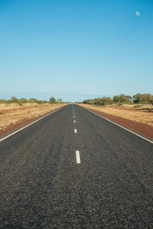 Road dissapering into distance Asphalt Country Road Diminishing Perspective Empty Empty Road Long Outdoors Perspective Road Road Marking The Way Forward Vanishing Point
