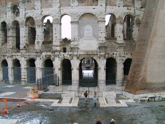 Roma Arch Architectural Column Architecture Enternalcity History Italy The Past