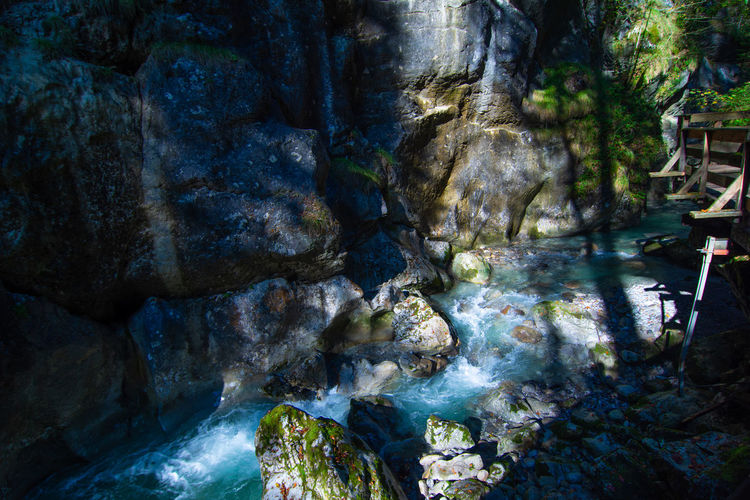 Nature Photography Nature_collection Naturelovers Rocky Mountains River View Waterfall Water_collection Natureperfection Rock - Object Water Nature