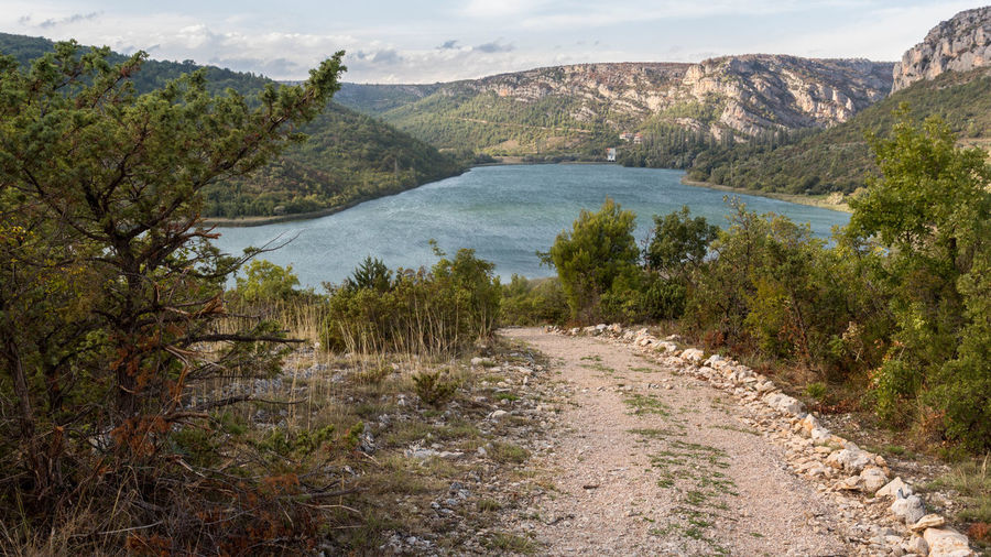 Croatia Hiking Beauty In Nature Krka National Park Landscape Nature Outdoors Tranquility Water Waterfall