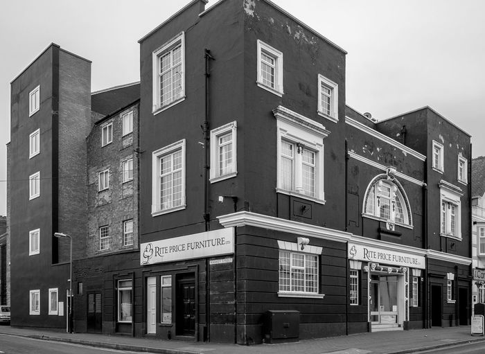 Former Palace Cinema, Railway Terrace, Rugby, Warwickshire Architecture Monochrome FUJIFILM X-T10 Black And White Rugbytown Rugby Warwickshire Cinema