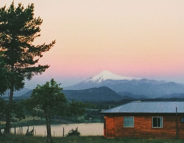 IPhoneography Panguipulli Sunset Volcano
