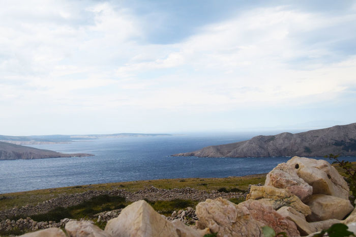 Baska Beautiful Croatia Island Krk  Landscape Mountain Nature Otok Otokkrk Sea Summer View