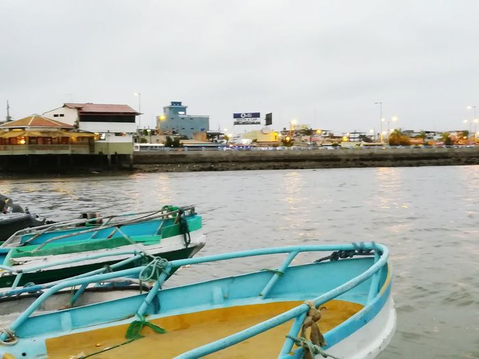 Nautical Vessel Beach Water Sea Mode Of Transport Outdoors No People Harbor Moored Day City Nature Building Exterior Sky Ecuador♥ Ecuador🇪🇨 Machala Puerto Bolivar Votes