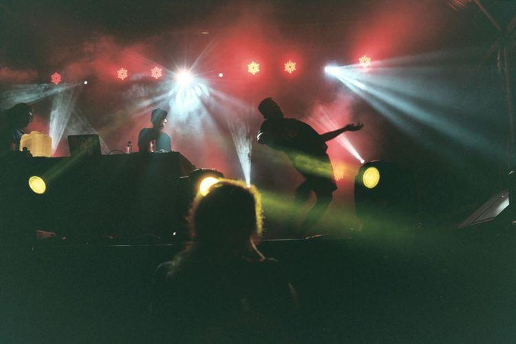 Primaverasound Batida Concert Analog Photography 35mm First Eyeem Photo Festival Season