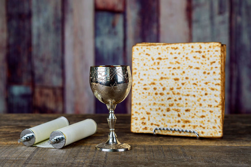 Passover Alcohol Close-up Day Drink Food And Drink Freshness Indoors  Matzah, No People Table Torahbright Wineglass