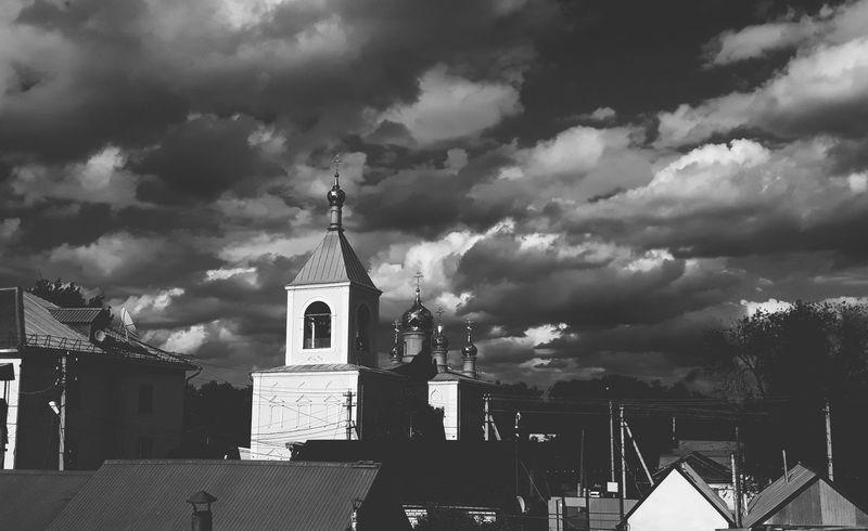 Cathedral Uralsk Kazakhstan🇰🇿 Clouds Sky