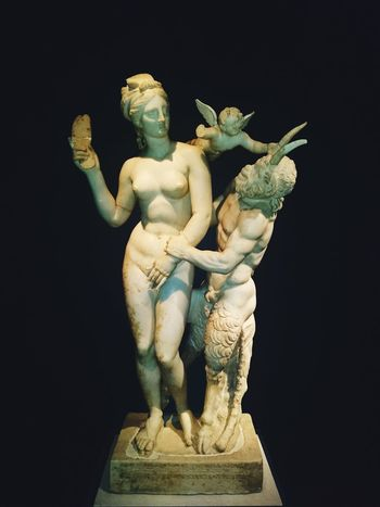 Satyr and maiden. Statue Marble Satyr Greece Ancient Athens Maiden Virgin  EyeEm Selects Arts Culture And Entertainment Sculpture Statue Adult