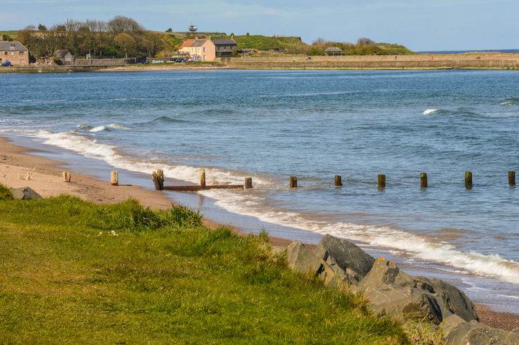 Spittal Beach, Berwick upon Tweed, Northumberland Berwick Berwick Upon Tweed Berwick-upon-tweed Berwickupontweed Coastal Coastal_collection Landscape Landscape_Collection Sea Seascape Seascape Photography Spittal