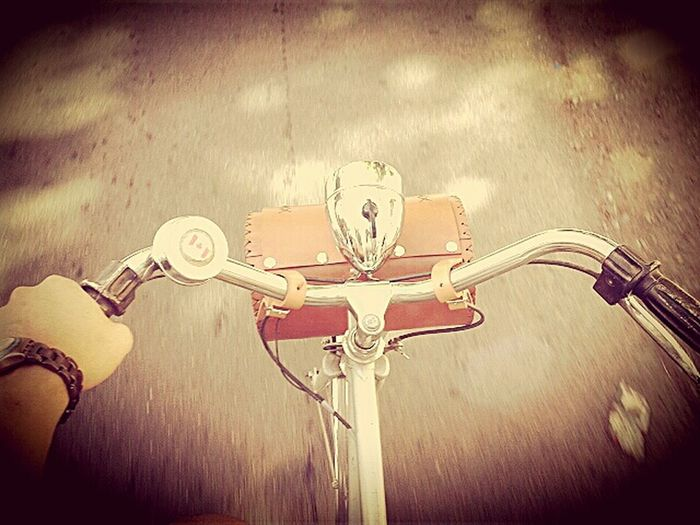What Does Freedom Mean To You? Vintage Bicycle Enjoying Life