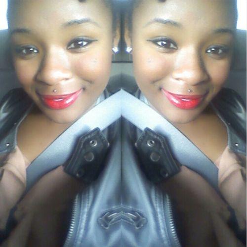 Double up :* Redlipstick Medusapiercing Smileforthecamera