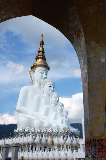 วัดพระธาตุผาซ่อนแก้ว KhaoKho,Thailand Petchabun_thailand Temple Architecture