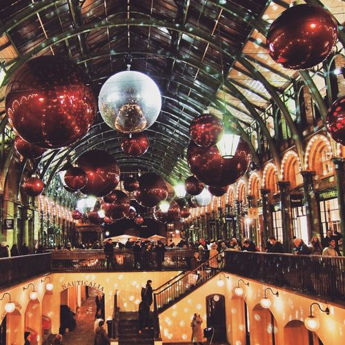 Covent Garden Market London IPSXmas Christmas Lights EyeEm Best Shots