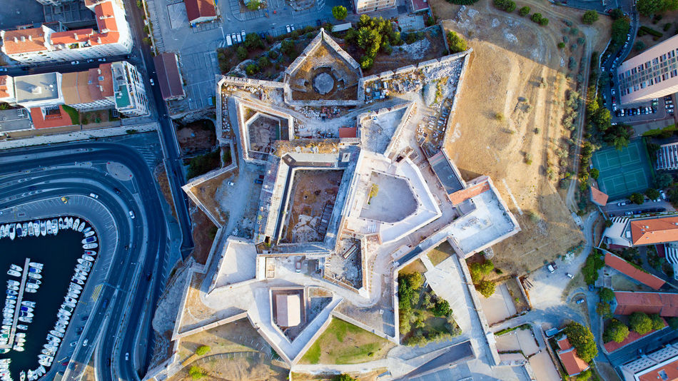 Aerial view on Saint Nicolas fortress in Marseille city, France City Cityscape EyeEm Best Shots EyeEm Selects France Marseille Mediterranean Sea Saint Nicolas Tourist Attraction  Aerial Photography Aerial View Architecture Boats Bouches Du Rhone Fort Fortress High Angle View Landmark Landscape Port Area Travel Destinations