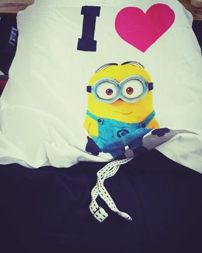 A gift from my parents in law 😁😍 Clothing Close-up Made My Day Minionsssss MinionsEverywhere Pyjamas Heart ❤