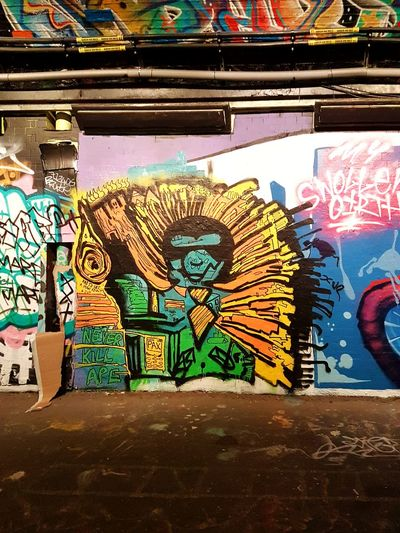 Art And Craft Graffiti Multi Colored Street Art Creativity No People