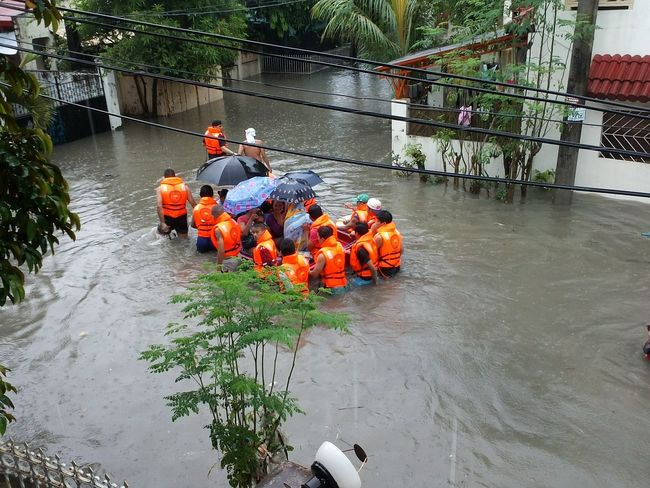 respect to the selfless men and women volunteers who puts their own safety and comfort aside for other people's welfare Philippines Love