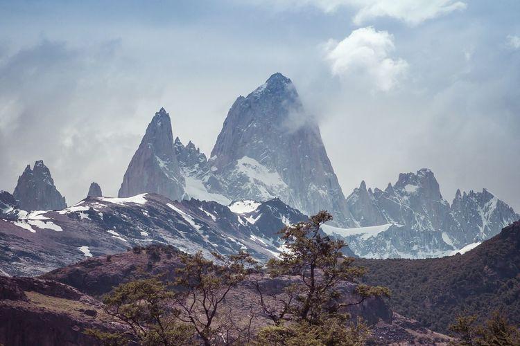 Fitzroy Patagonia Mountains Argentina First Eyeem Photo