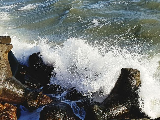 Water Waves Nature Photography Outdoor Photography Stones & Water Sandstone EyeEm Nature Lover Water No People Day Sea Outdoors Close-up Nature UnderSea