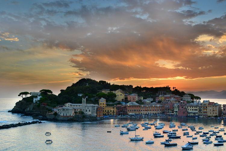 Sunset in Sestri Levante Baia Del Silenzio Bellitalia EyeEm Italy EyeEm Liguria Italian Riviera Italy Italy❤️ Landscape Landscape_Collection Liguria Ligurian Coast. Mediterranean  Mediterranean Sea Sea Sestri Levante Skyview Summer Sunset Sunset_collection Tigullio Tourism Italy Travel Photography
