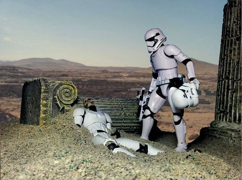 The First Order was always finding remnants of the Empire on many different planets. Anarchyalliance Toysaremydrug Ata_dreadnoughts