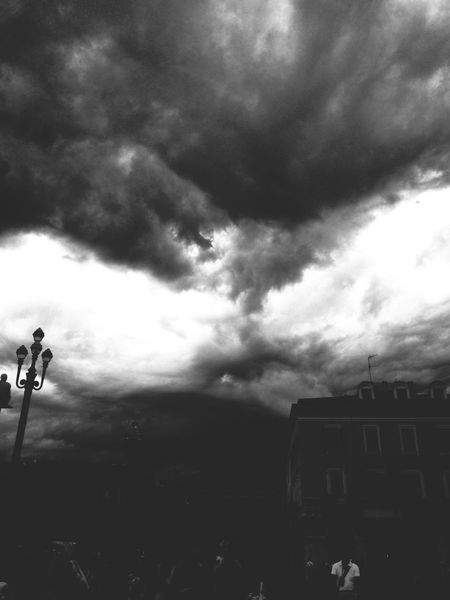 Storm France Nice, France Nizza Francia Côte D'Azur Cloudy Creepy Weather Adventure Exploring Photography