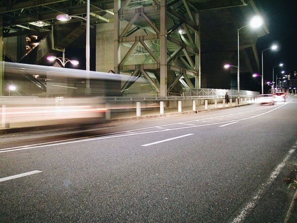 Transportation Illuminated Road Street Night Blurred Motion Speed Car City Motion Land Vehicle No People Outdoors Architecture