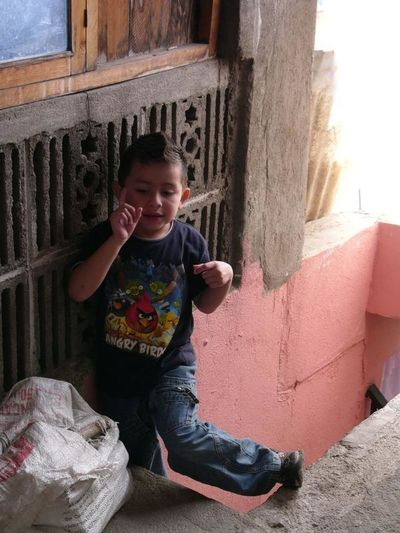 oh and another thing Child Little Boy Salcajà Quetzaltenango Guatemala